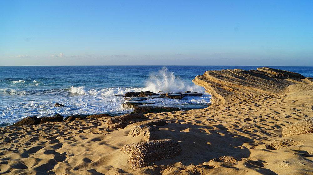 andalousie, surf, océan