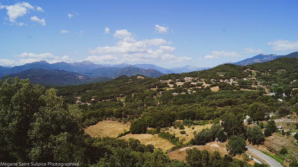village, corse, montagnes