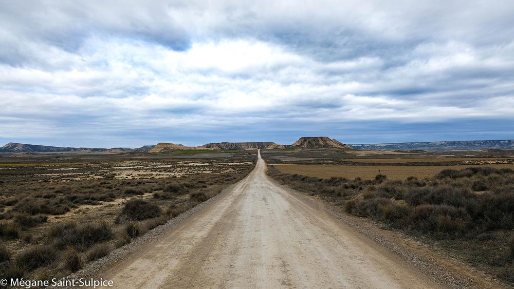 désert, balade, nature