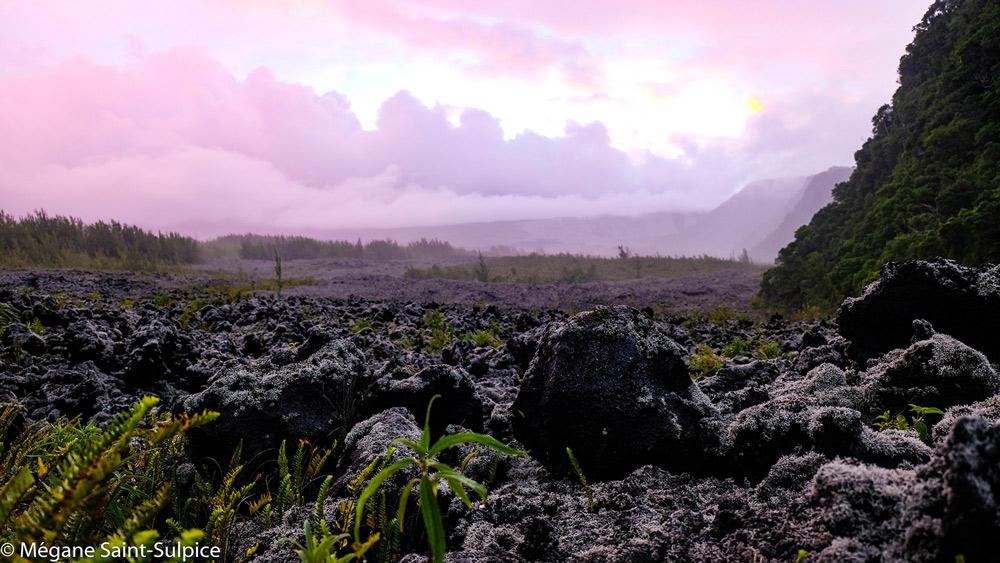 volcan, réunion, voyage