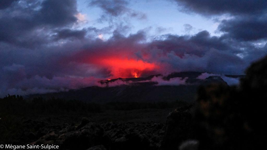 volcan, nature, réunion