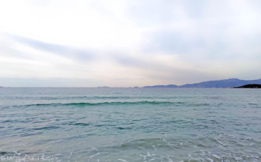 venesse, plage, corse
